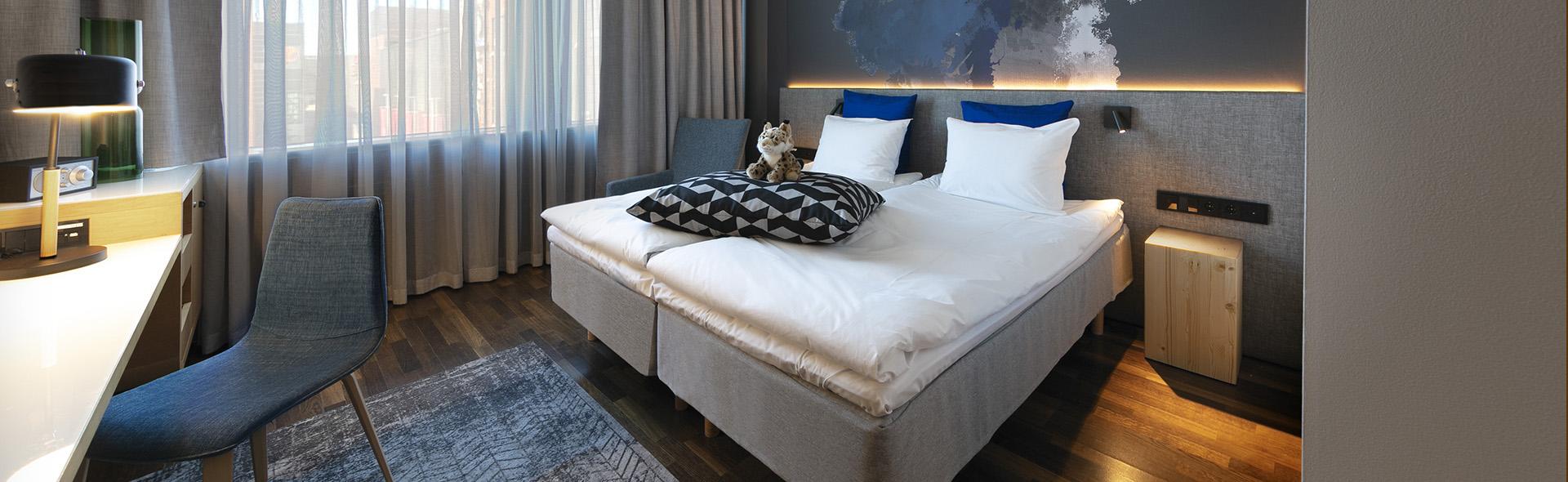 Glo Hotel Sello comfort huone