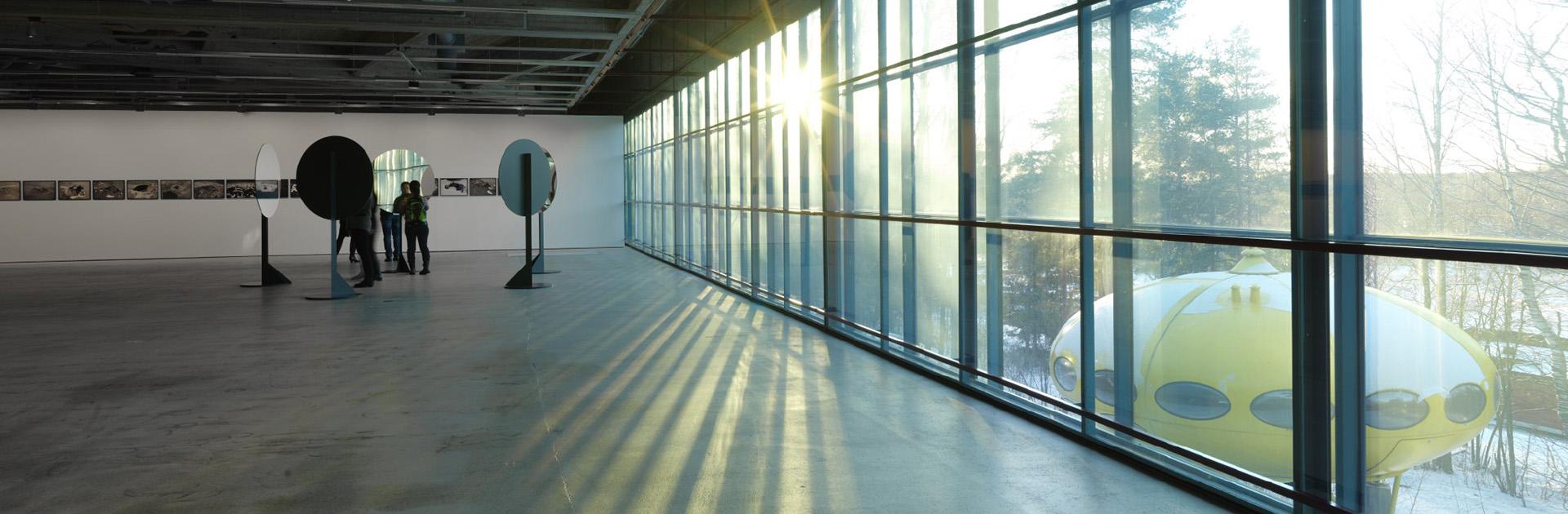 Espoon Modernin Taiteen Museo EMMAn tilat