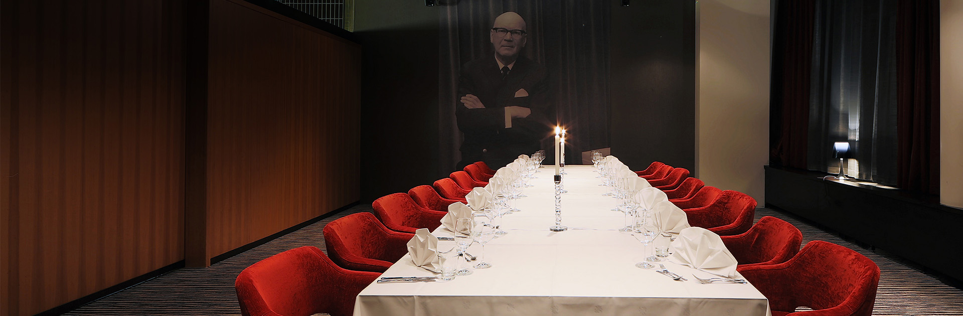 Långvikin Kekkoslounge kokous- ja juhlatila