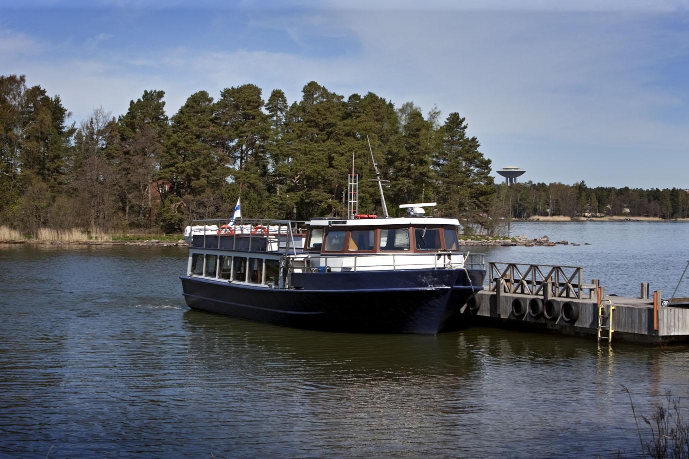 Saaristovene Espoossa